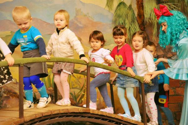 Фото детской площадки в измайловском парке