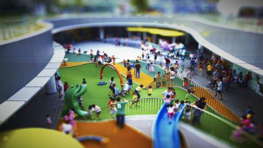 город для детей картинка