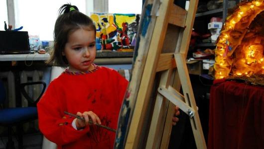 маленькие дети и искусство